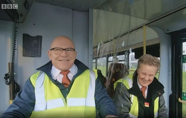 Dom Littlewood hails bus company as 'lifeblood of the community'