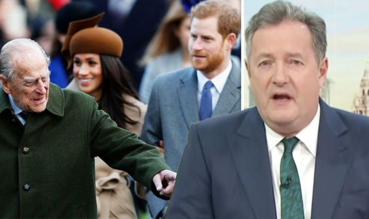 'Stay off Oprah!' Piers Morgan issues warning to royals after advice from Prince Philip