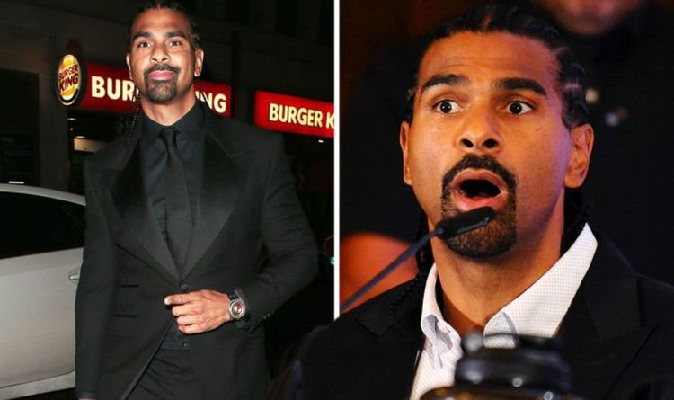 David Haye: Boxer admits he desperately 'wants to go out of business' 'It sounds crazy!'