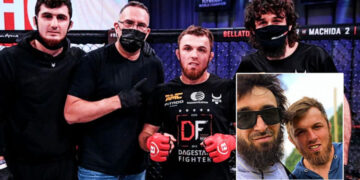 'I'm grateful': Magomed Magomedov hails Khabib Nurmagomedov & Zabit Magomedsharipov after choking opponent at Bellator 255 (VIDEO)