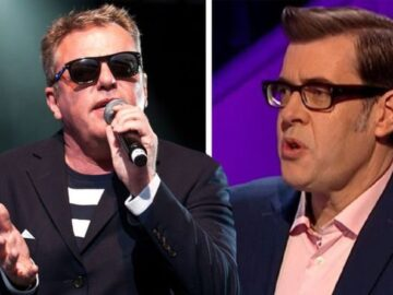'He gets on my wick' Madness star Suggs takes a swipe at Pointless host Richard Osman