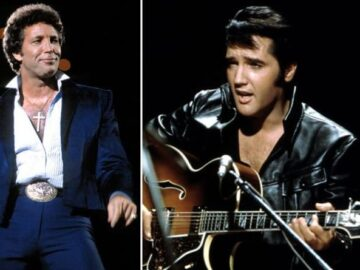 Elvis Presley at Tom Jones concert photo shared by The King's ex-girlfriend Linda Thompson