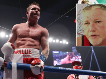 'No way the fight is off': Boxing superstar Canelo opponent Saunders mocked after claim he's quit scrap over ring size row (VIDEO)