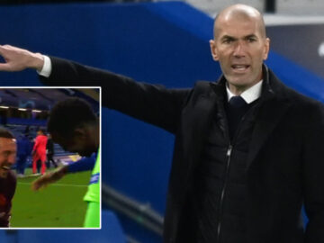 Hazard hammered after appearing to celebrate on pitch with Chelsea players as Zidane insists pride in Real Madrid defeat (VIDEO)